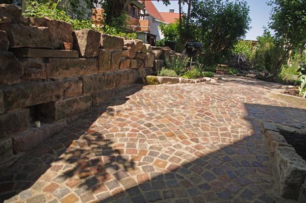 Mauern gartengestaltung grabmale in schorndorf und urbach - Gartengestaltung mit sandstein ...